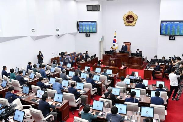 '도시공원 민간특례사업' 한 도의원 발언 논란...시민단체 '발끈'