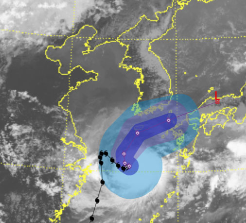 태풍 '찬투', 제주도 향해 북상 시작...폭풍우 밀려온다